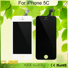 Great Offer LCD Display Touch Screen Front Panel Glass Digitizer Assembly Frame Replacement Repair For iPhone 5C