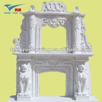 natural decorative stone fireplace(FPS701)