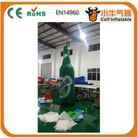 Main product long lasting xxl inflatable bottle for advetising reasonable price