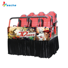 Funny games 5d 7d theater movie equipment luxury seats 7d cinema game simulator for sale