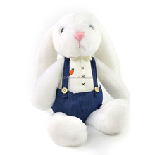 Wholesale Long Ear Stuffed Plush Bunny Easter White Bunny