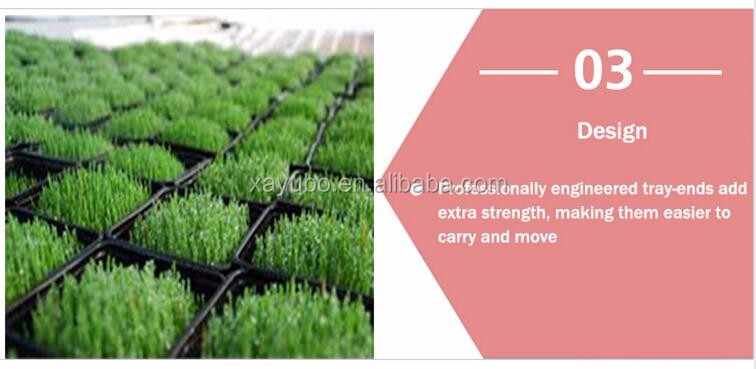 Factory supply hydroponic growing systems, flat shallow growing tray for nursery plant