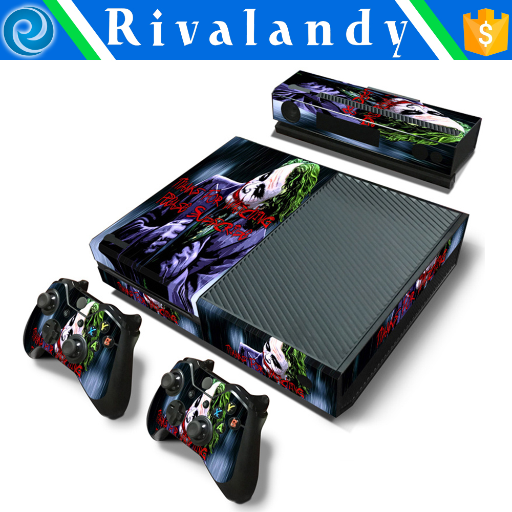 vinyl skin sticker for x-box one colorful for ps4 sticker skin
