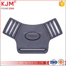 Top quality stroller accessories Black plastic Side Release buckle