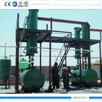 20tons Continous Pyrolysis Fuel Oil To