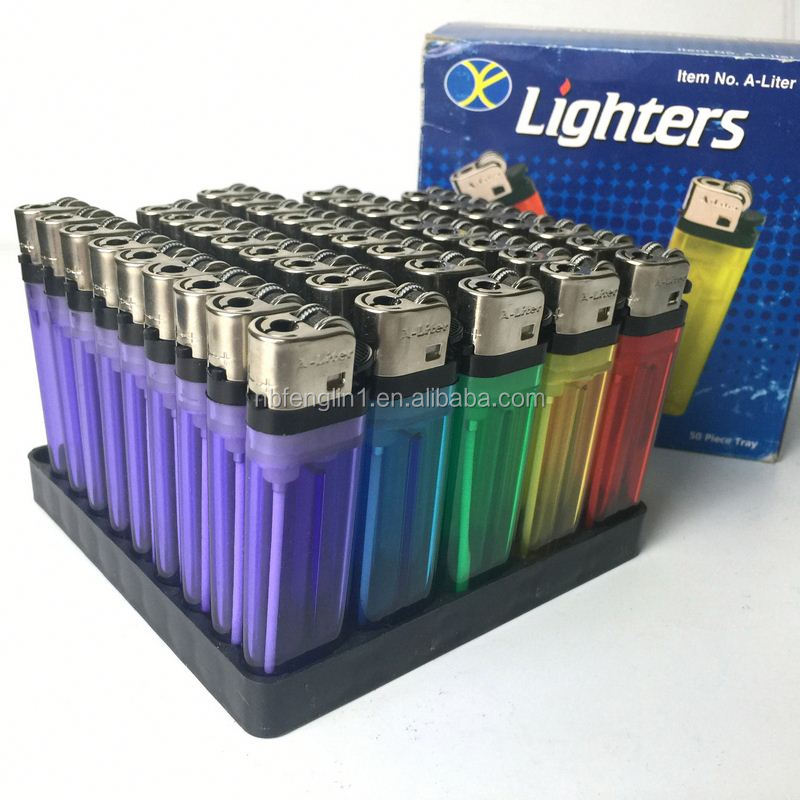 Most popular FL-601 disposable rechargeable battery electric lighter