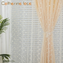 Catherine Cheap Bathroom Cafe Embroidery Window Curtains
