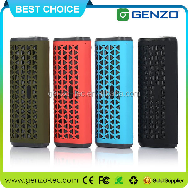Round waterproof bluetooth speaker for promotion with your logo