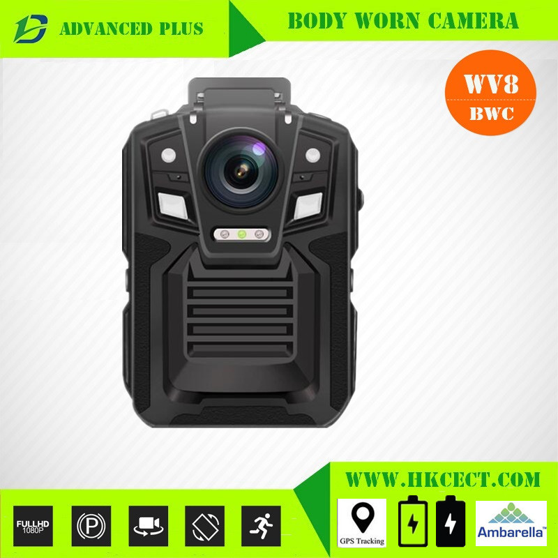 Linux system IP65 Covert Body Cameras mobile phone through <strong>WIFI</strong> to connect police camera