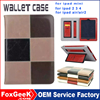 High Quality Grid Slim Thin Magnetic Leather Smart case Wake/Sleep Cover Flip Case for Ipad 2 3 4