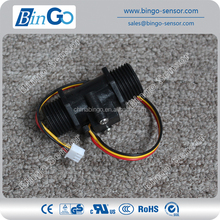 Low price 1/2'' Plastic Crystal Water Flow Sensor