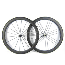 High quality Cheap Carbon Wheels 700C Road Bike Wheelset Clincher Rims 50mm depth Carbon Fiber Bicycle Wheel