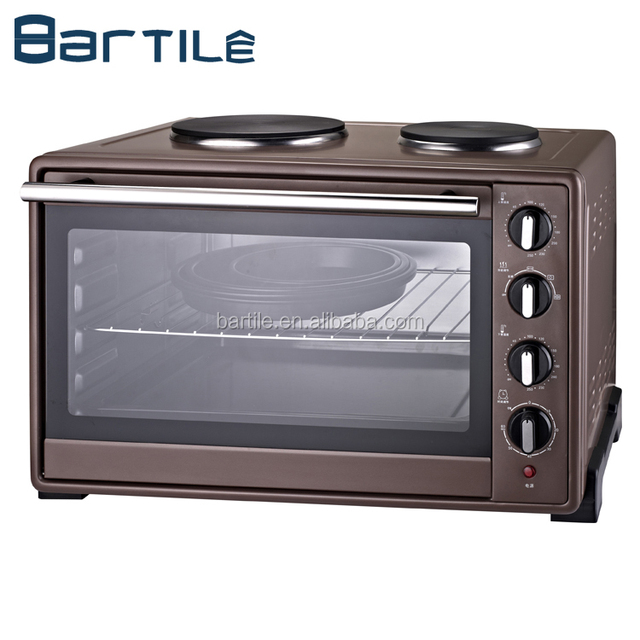46 liter portable oven with table top hot plate/portable electric oven 46l/46 liter oven hot plate