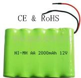 Ni-mh12V AA2000mah battery pack for power tool