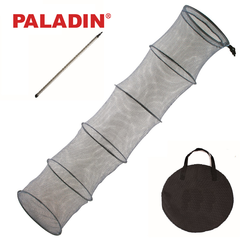 Paladin 200 / 350 cm Strong Collapsible Feeder Fishing Keep Nets / Cages / Baskets with Bank Stick and Net-Bag