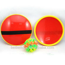 Plastic Light Up Suction Ball Catch Games Set, Sticky Ball Game