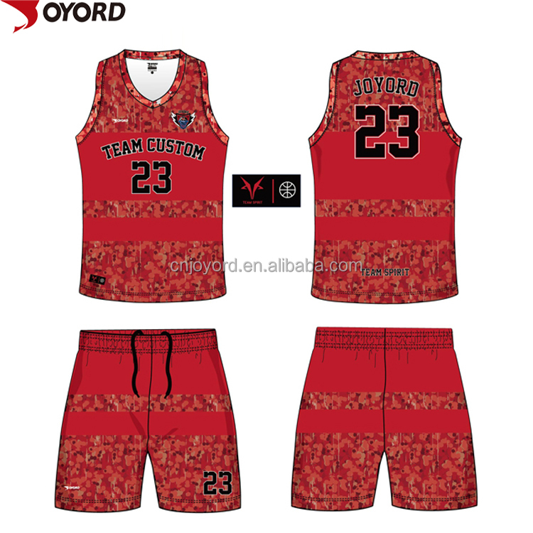 sublimated camo blue reversible basketball jerseys