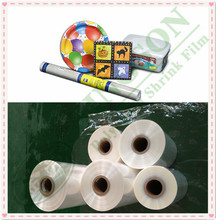 pof plastic film single wounded