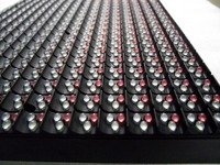 electronic P10 oled display modules/china led matrix dip modules/full color led module outdoor