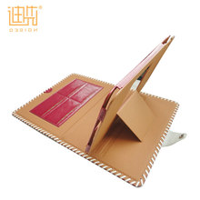 Exquisite workmanship card holder child proof pu 8.1 tablet leather case for ipad cover