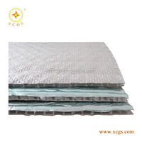 High Reflective Silver Foil Air Bubble Board / Double Sided Alu Bubble Foil Roof Insulation / Air Bubble Ceiling Insulation