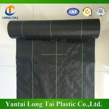 Long life span water jet loom pp woven fabric/pp weed mat/outdoor weed mat for anti weeds