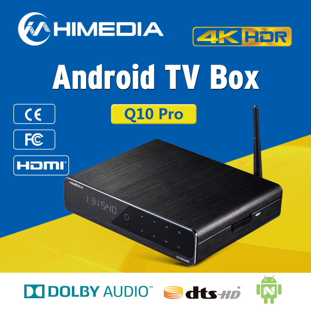 2016 Himedia <strong>Q10</strong> Pro Quad Core Android TV Box 2G 16G Dual Band WIFI