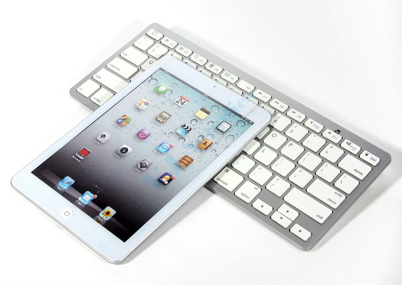 Bluetooth Wireless Keyboard Cordless For iPad 1 2 3 4 Mac Os iPhone