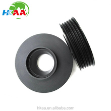 High precision black anodized aluminum motorcycle transmission timing pulley
