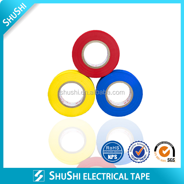 Ruber adhesive vinyl electrical tape