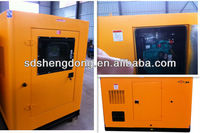 silent gas generator, biogas/natural gas generation with cabinet SD-50