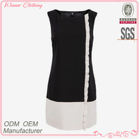 Women new modern brand name fashion summer dresses