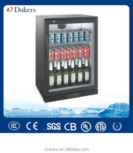 Black Beer Cooler, single door beverage chiller_LG-138