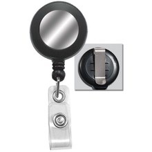 UHMWPE floss rotatable badge reel with swivel clip for holder