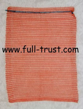 Raschel mesh bag for fruit