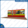 portable plastic promotion booth exhibition booth contractor