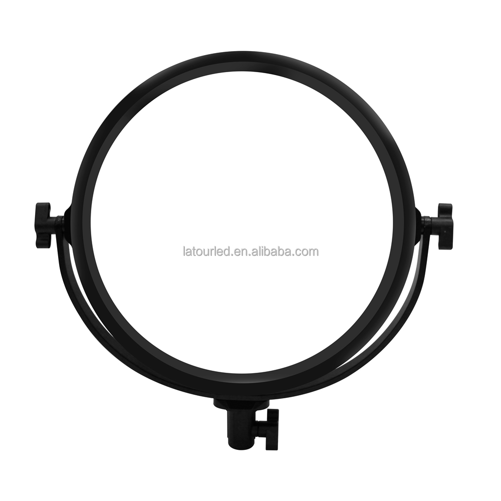 30W Studio/video continuous round ring led light for portable dslr video camera