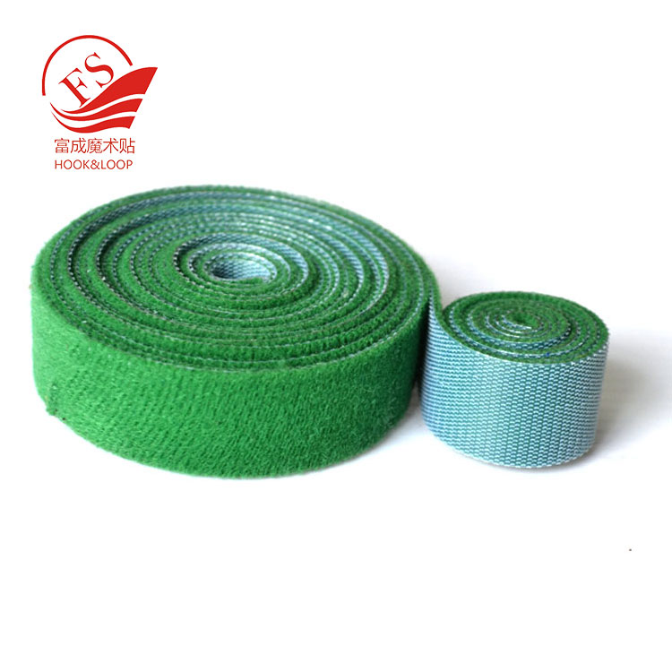 Cuttable nylon back to back hook loop tape in different length
