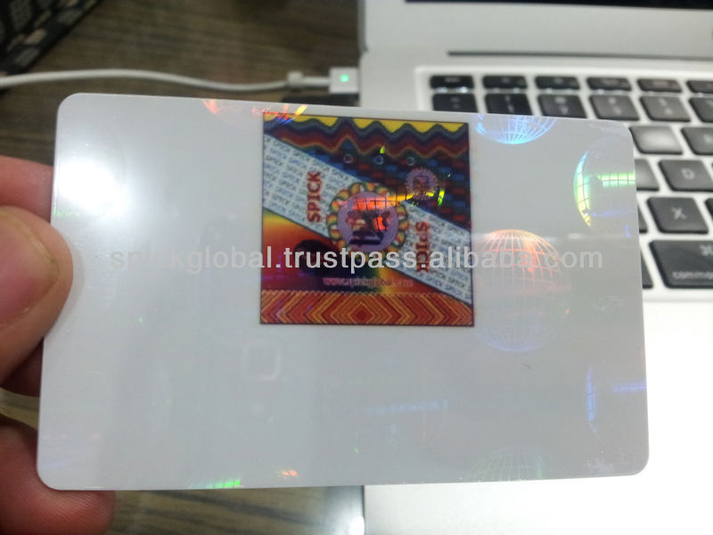 IC Card Holographic overlay,foils,ribbons,laminations