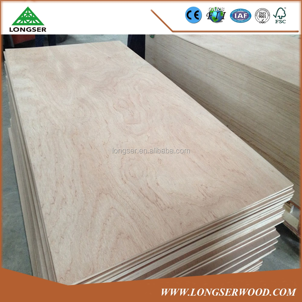 JPIC standard Factory directly1220x2440x2.5-18mm Commercial Plywood