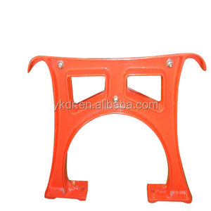 Supply cast aluminum garden benches parts finish by sand casting and gravity casting