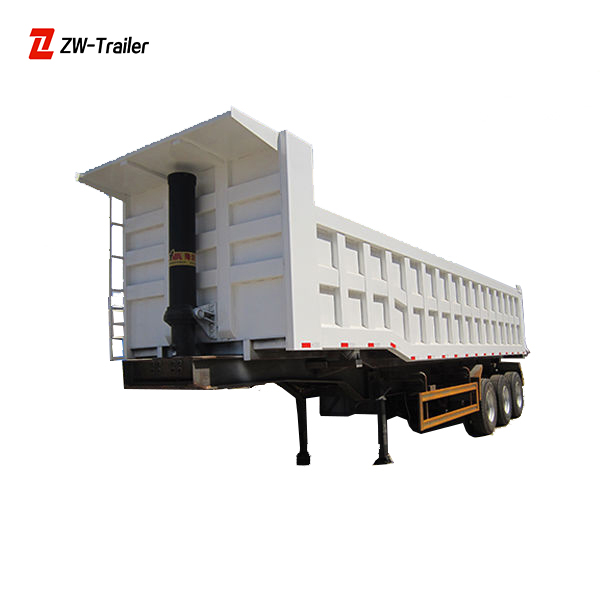 Modular Custom Made Ramp Multi-Axle Hydraulic Truck Trailer For Sale