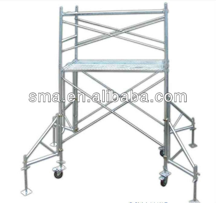 construction working platform frame scaffold ( Real Factory in Guangzhou )