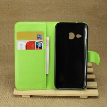 New top sell flip case for htc one m8 mini