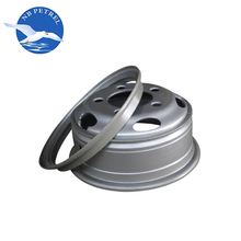 Professional factory heavy truck universal aluminum tire and rim on sale 20 inch steel wheel rim