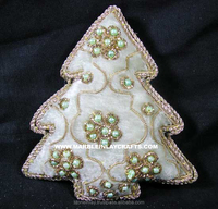 Hand Crafted X-Mas Decoration Hanging Ornament