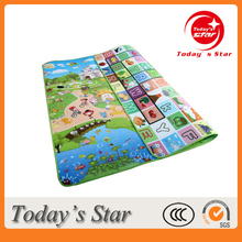 Double Side Baby Used Activity Play Gym Mat Eco-friendly Floor Mat