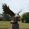 High quality cheap bronze outdoor eagle statues