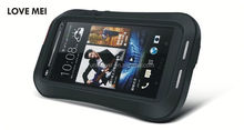 Love mei armband waterproof case cover for htc one m7. wholesale