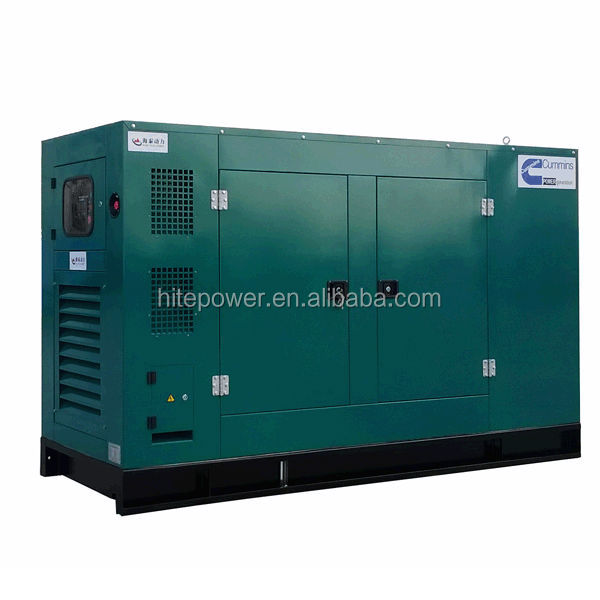 Water cooled Less Fuel 8kw-1200kw silent type generator diesel